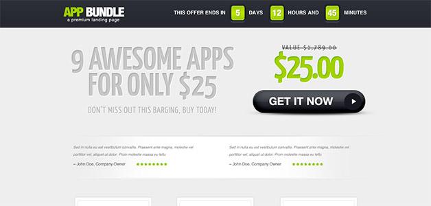 AppBundle Landing Page