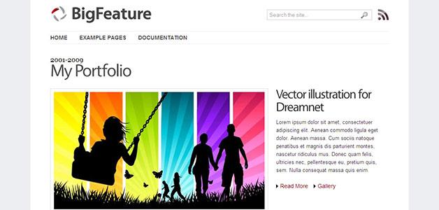 Big Feature Magazine Theme