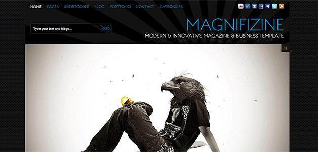 Magnifinzine Theme