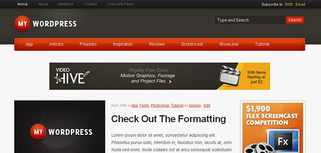 My WordPress Theme