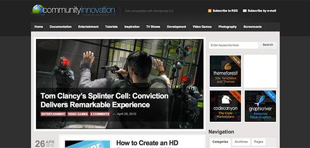 Community Innovation Theme