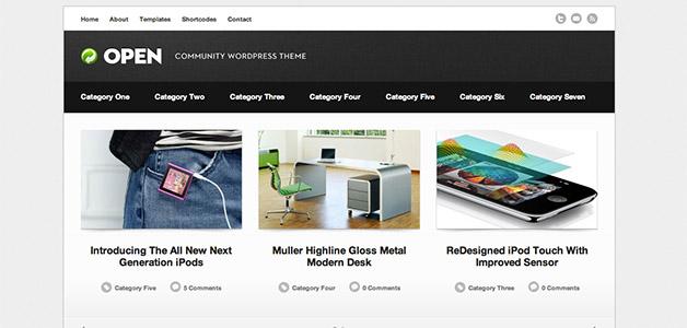 Open WordPress Community Theme