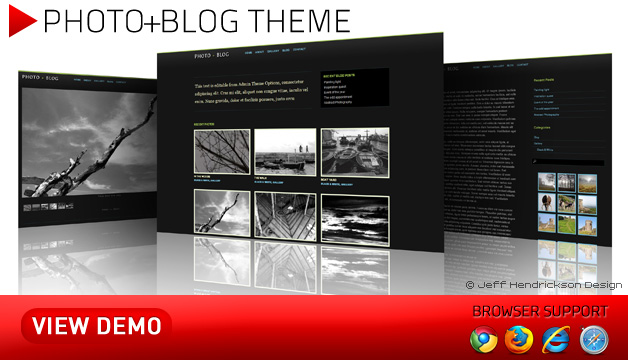 Photo + Blog Theme