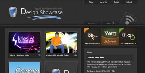 Design Showcase Theme