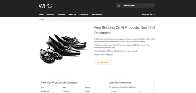 WPC WordPress Ecommerce