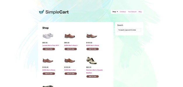 SimpleCart Theme