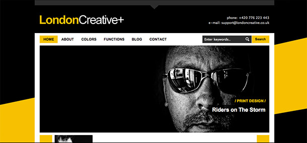 London Creative WP Theme
