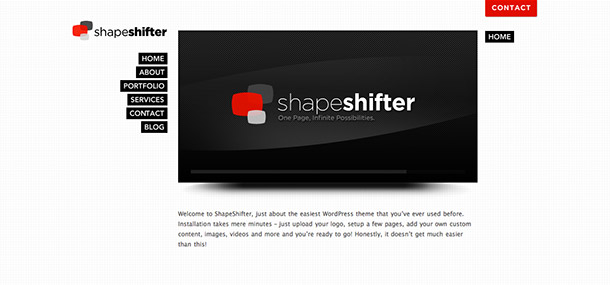 Shapeshifter WP Theme
