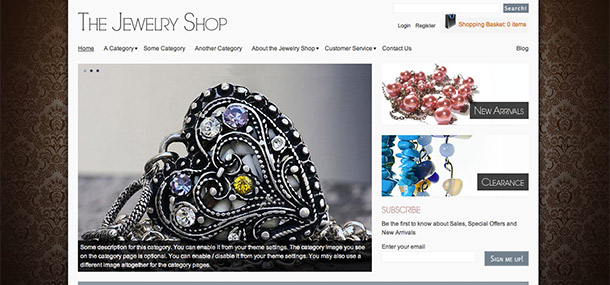 Jewelry Shop WordPress Theme