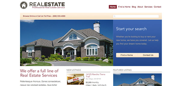 WP Real Estate Theme