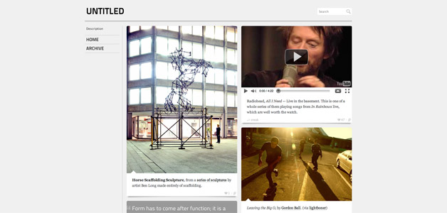 Scaffold Tumblr Theme