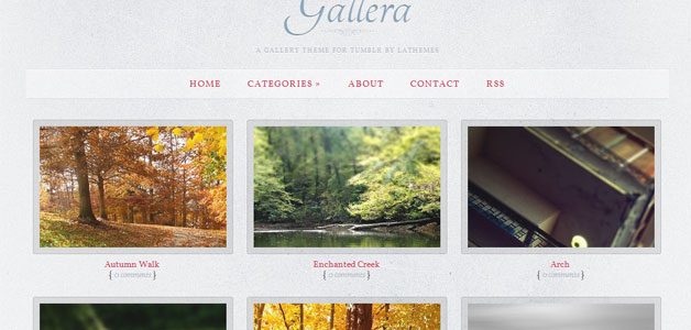Gallera Tumblr Theme
