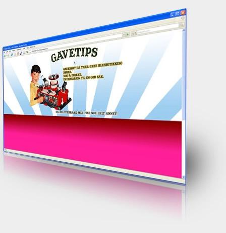 Birthday Website Invitation Design