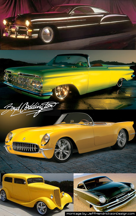 Boyd Coddington Hot Rods