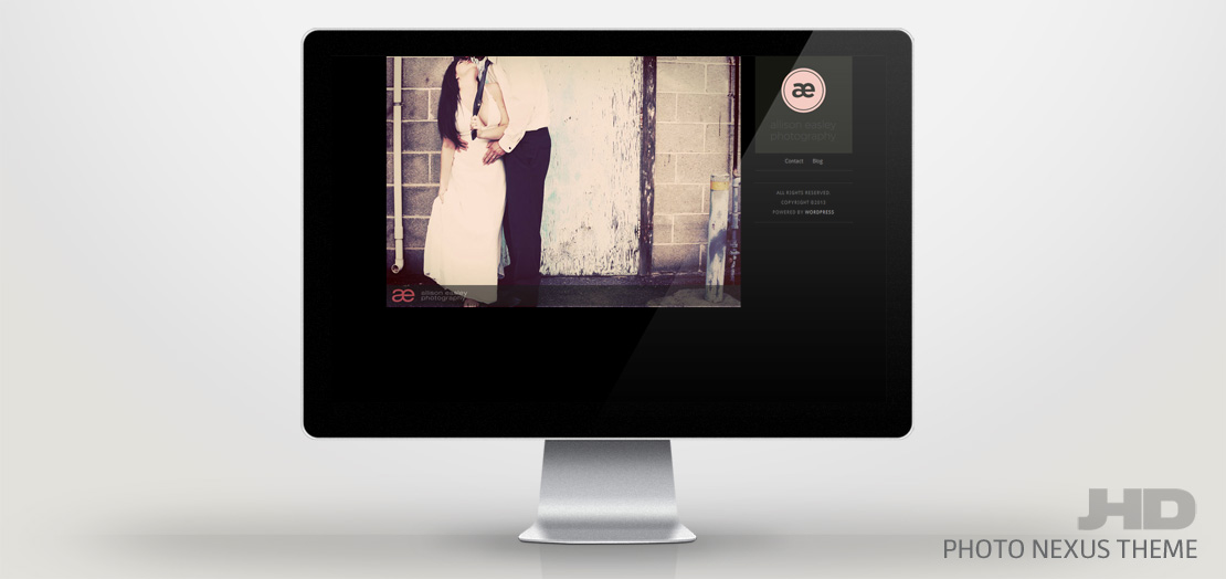 New Photography WordPress Theme Release