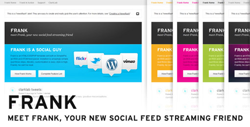 Social Stream Feed Template