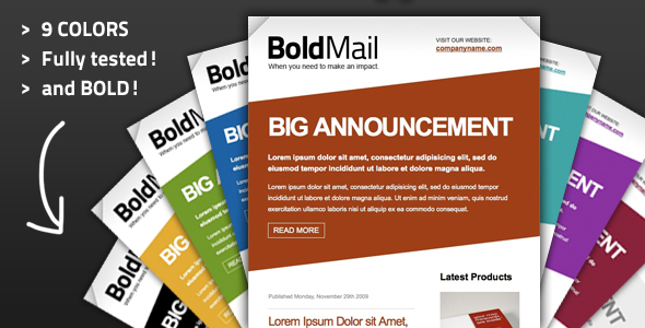 Boldmail Template