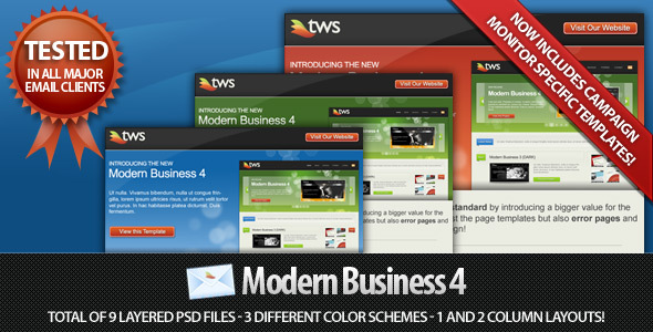Modern Business Email HTML Template