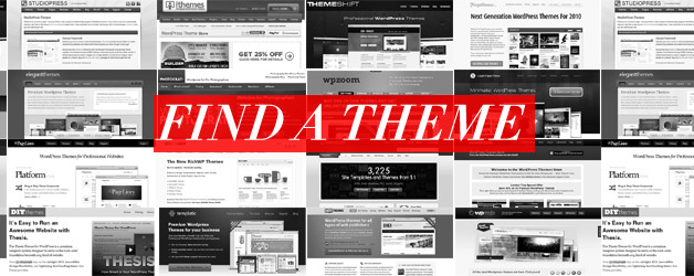 54 Sites to Find WordPress Themes