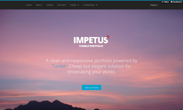impetus tumblr theme