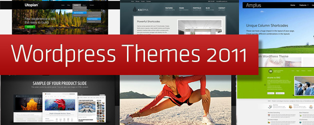 WordPress 2011 Themes – 105 New Themes
