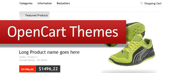 20 OpenCart Themes and Templates