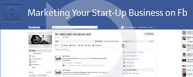 Marketing Your Start-Up Business with Facebook