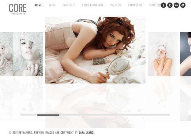 core Photography Theme for WordPress