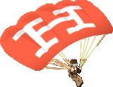 hello bar parachute man