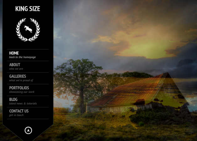 kingsize Photography Theme for WordPress