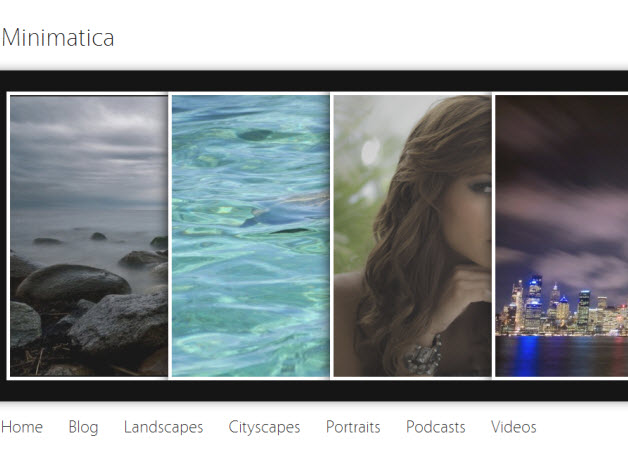 Minimatica WordPress Photography theme