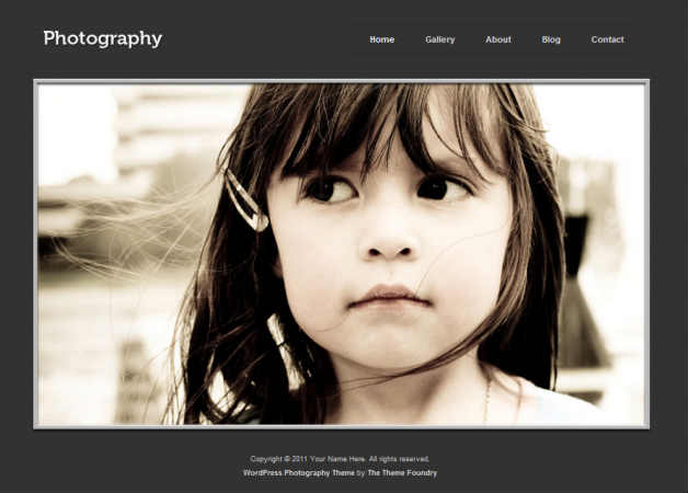 photography Photography Theme for WordPress