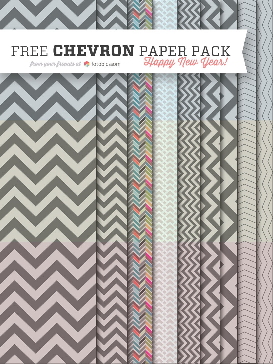 Free Chevron Pattern Papers