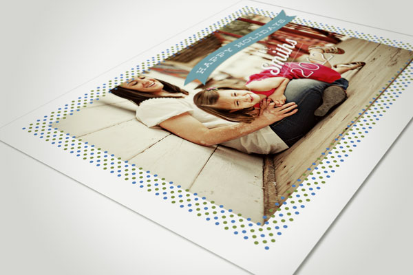 fotoblossom Happy Holidays Christmas Card