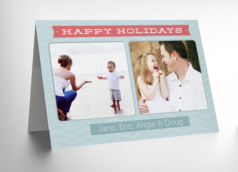 Free Download: 10 Free 5x7 Holiday Card Templates
