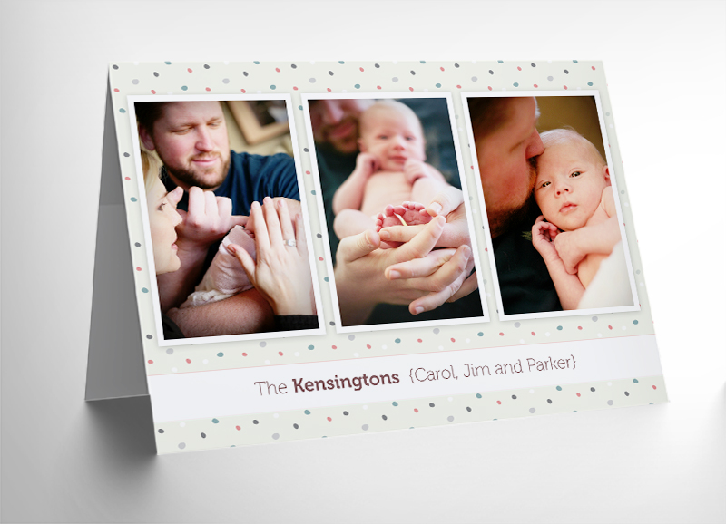 10 Free 5x7 Holiday Card Templates