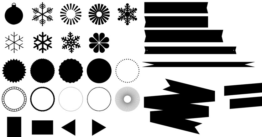 Free Photoshop Shapes