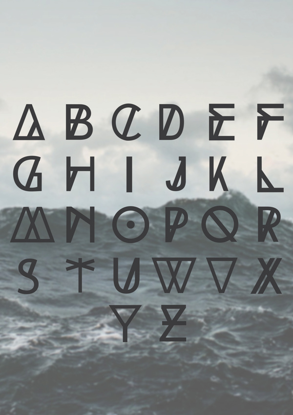 High-Tide-free-font