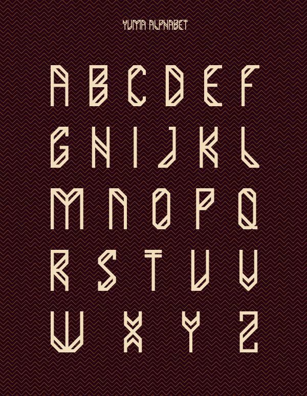Yuma-free-font