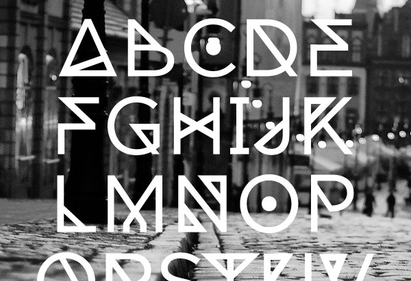 23 Free Geometric Angular Rune Esque Style Fonts