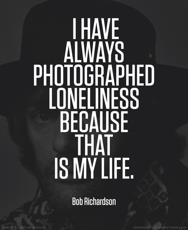 Bob Richardson photographer quote
