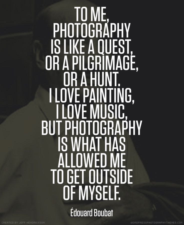 Edouard Boubat photographer quote