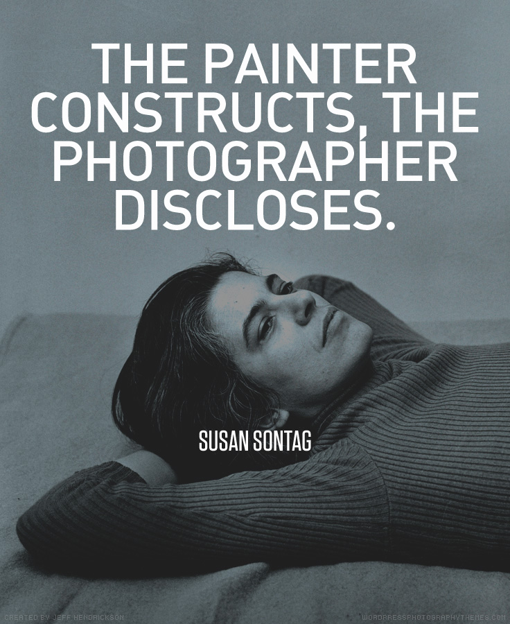 Susan Sontag quote