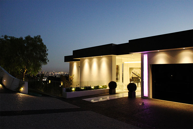 Modern Home on Mulholland Drive