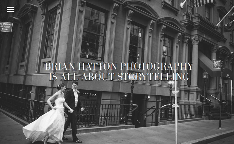 40 Wedding Photographer Websites Powered by WordPress
