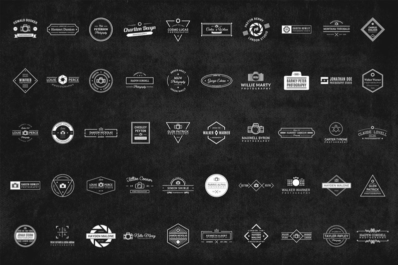 20 Free Logos for Photographers