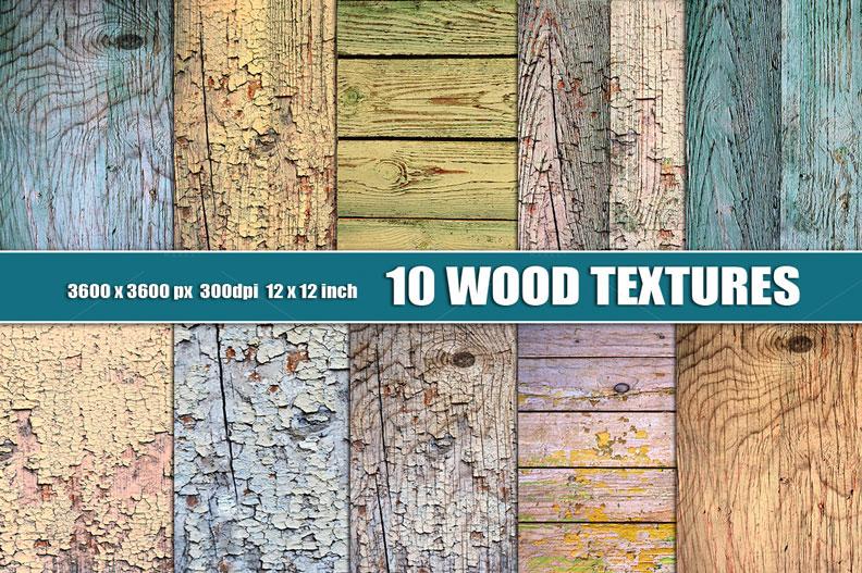 Distressed Wood Textures