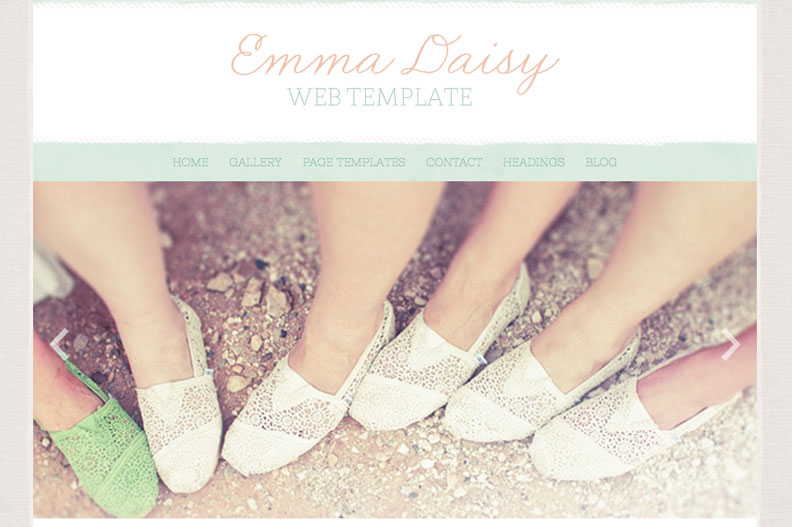 Emma Daisy WordPress Theme