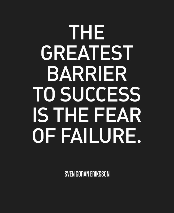 fear the greatest obstacle to success Fear is the greatest single obstacle to success in adult life have you noticed it's not the fear of failure that holds you back it's the fear and anticipation of what might happen we all have failed a couple thousand times in our life but we're still alive because we have more mistakes and decisions to make.