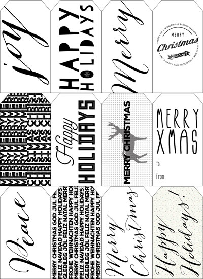 Freebie Printable Tags - All